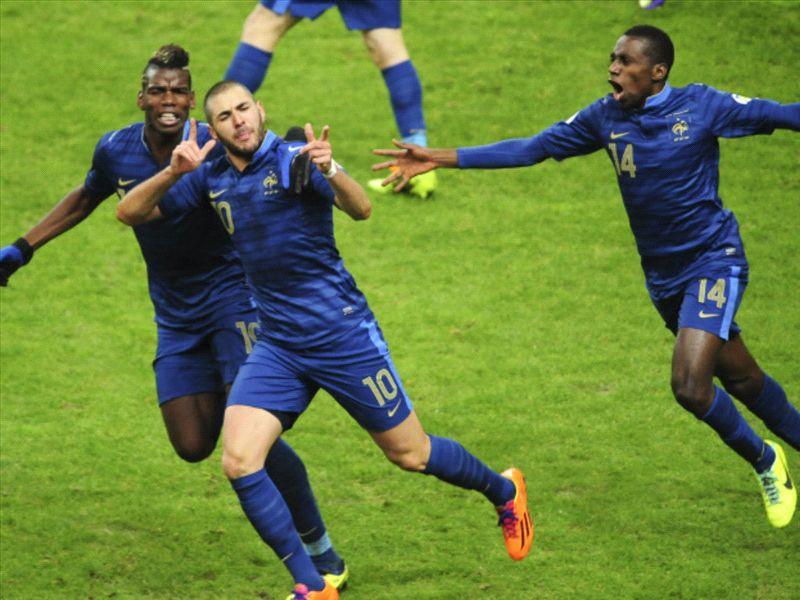 Benzema a ouvert le score face aux portugais