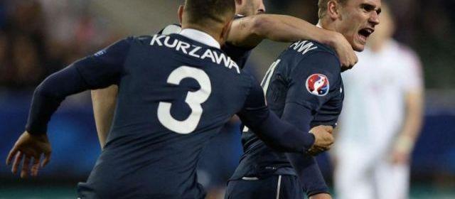 Griezmann a offert le nul à la France