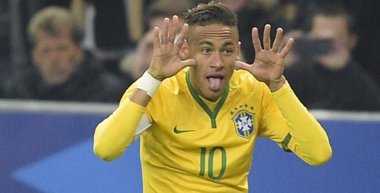 Neymar marque le 2e but brésilien