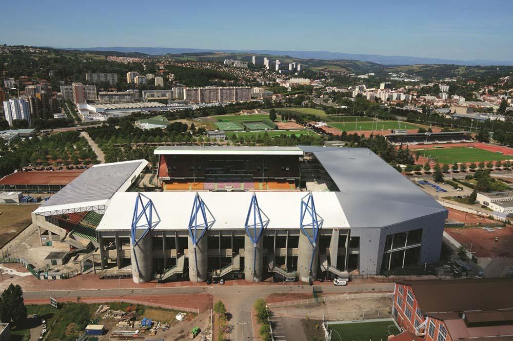 Saint-Etienne restgaure son stade