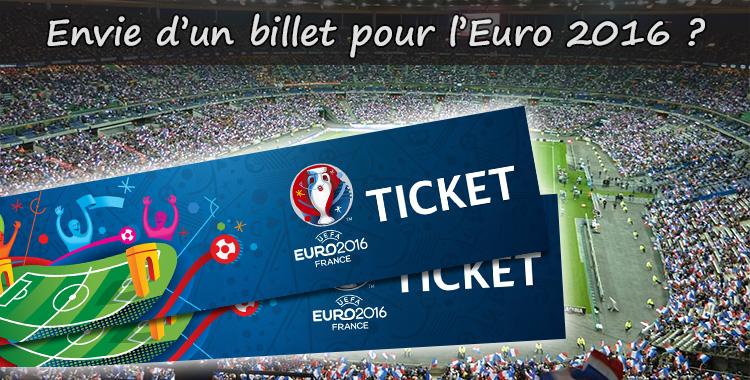 Acheter des billets pour l'Euro2016