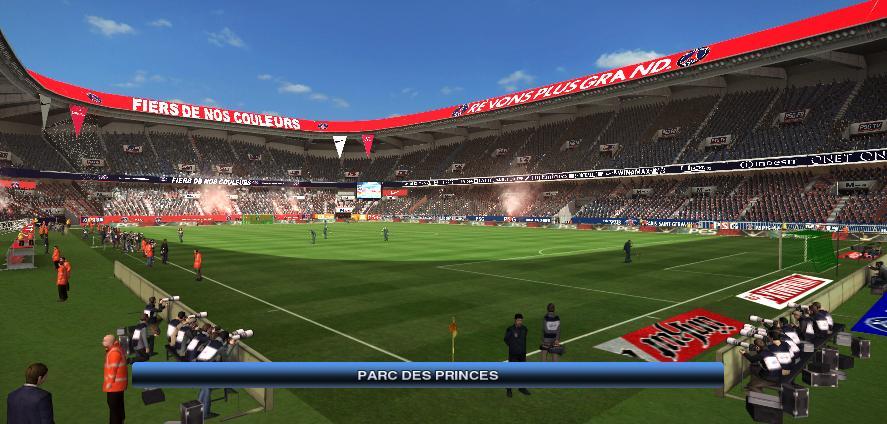 Le Parc des Princes modernisé pour l'Euro 2016