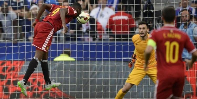 Les Belges ont marqué 4 fois au Stade de France.