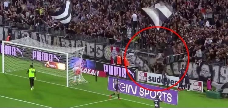 Un portique s'effondre au nouveau stade de Bordeaux