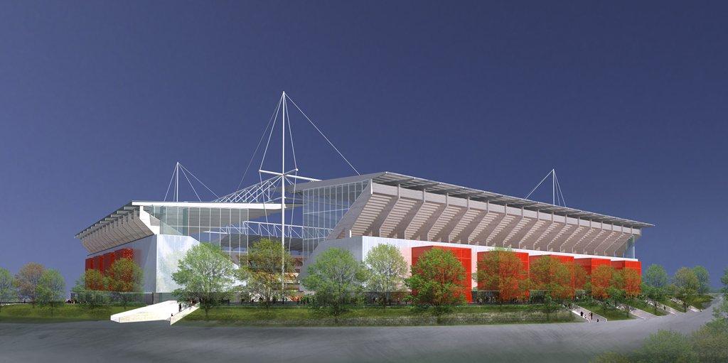 Le nouveau stade de Lens fin prêt pour l'Euro 2016