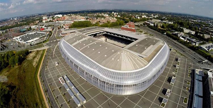 Le Stade Pierre Mauroy à Villeneuve d'Ascq