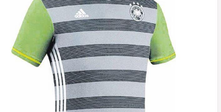 Dévoilé dans les médias, le maillot des Allemands pour l'Euro est critiqué.