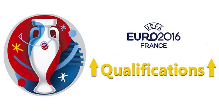 Qualifications pour l'Euro 2016