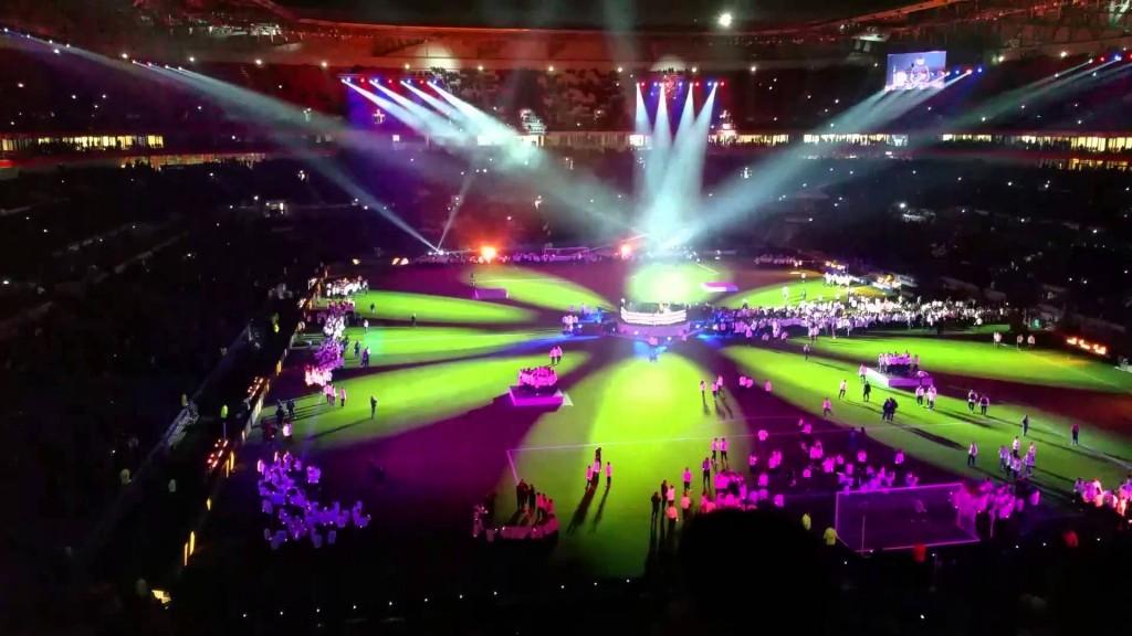 show de will i am au Grand Stade