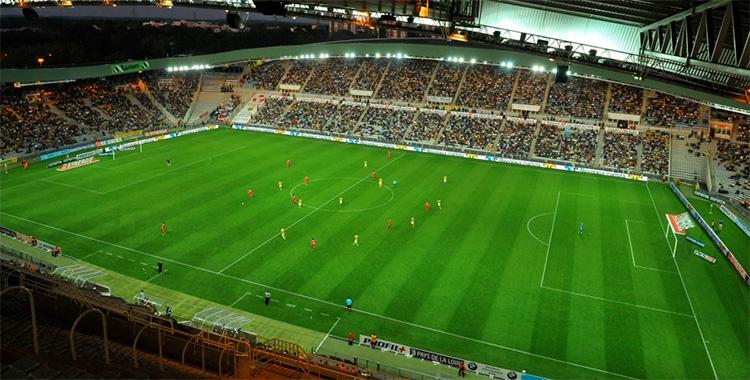 Le stade de St Etienne