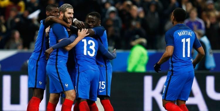 Victoire de la France face aux Russes