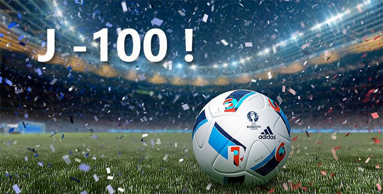 j-100 avant l'Euro !