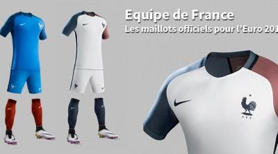 Maillot Equipe de France pour l'Euro 2016