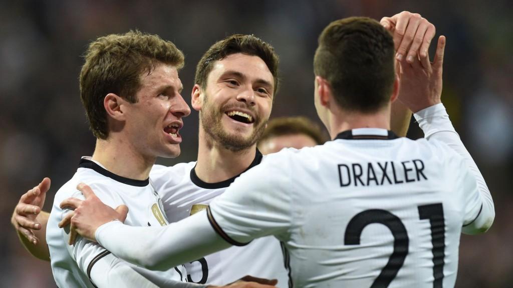 Facile victoire des Allemands face à la Squadra Azzura