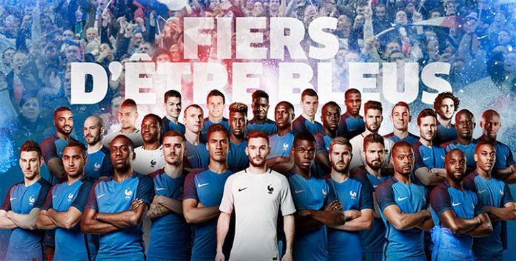 Liste des 23 bleus pour l'Euro