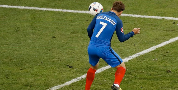 But de Griezmann face à l'Albanie