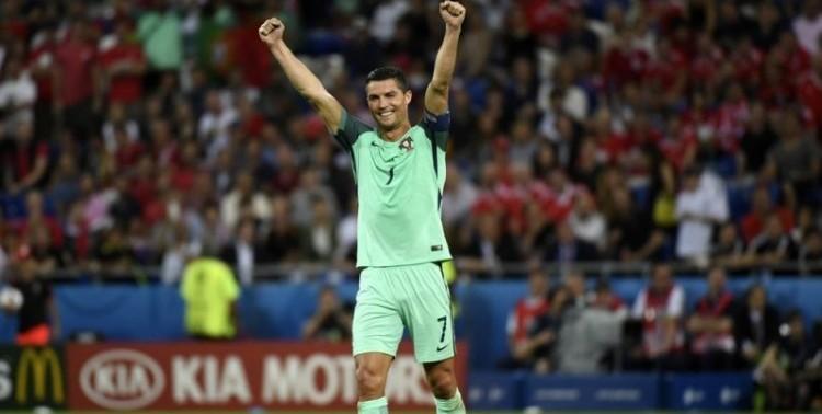 Ronaldo ouvre le score face au Pays de galles